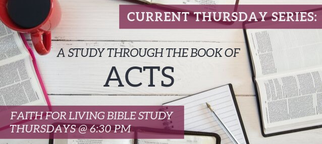 Study through the Book of Acts