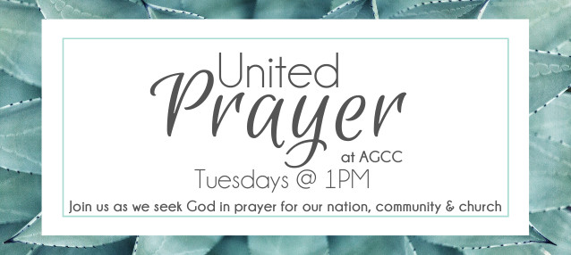 United Prayer Is Back on Tuesdays at 1PM